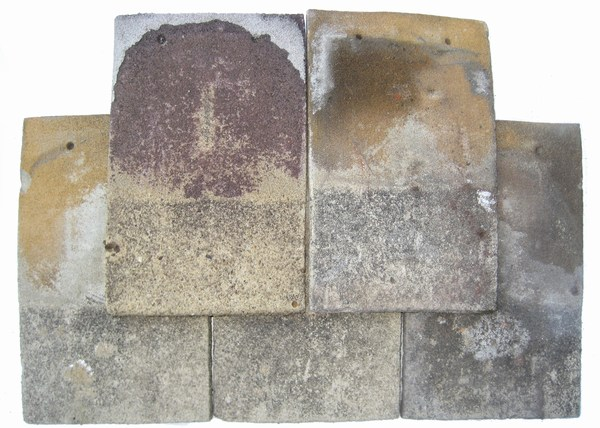 mini-Buff base colour concrete plain tile set